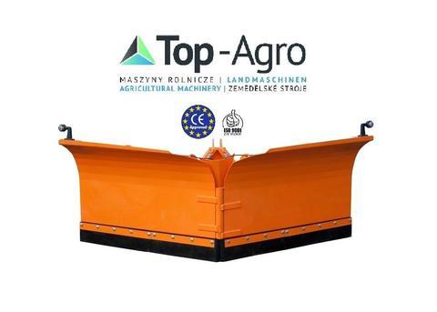 Top-Agro DIREKT VOM HERSTELLER Schneepflug Schneeschiebeschild 2,2m Vario hydr.