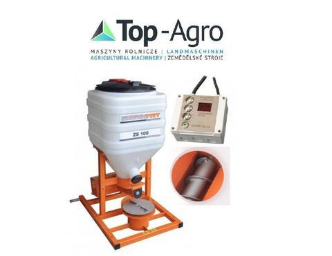 Top-Agro DIREKT VOM HERSTELLER Salz-Sandstreuer ZS- l00 TOP-PRODUKT