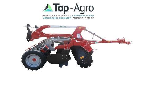Top-Agro Grano-System Scheibenegge Reifenpacker + Deichse
