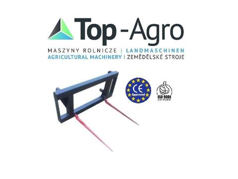 Top-Agro  DIREKT VOM HERSTELLER Ballengabel Ballenzinken EU-Qualitat BEST Produk