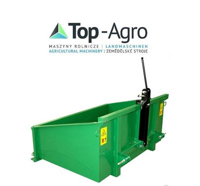 TOP-AGRO METAL-FACH Kippmulde, Heckcontainer, 3pkt. EU-Qualitat BEST