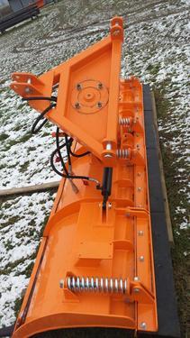 Top-Agro DIREKT VOM HERSTELLER Schneepflug Schneeschiebeschild 2,2m gerade hydr