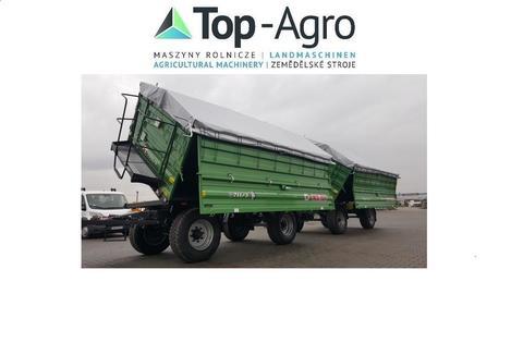 Metal-Fach Top-Agro T711/3 - 12T 3-Seiten Kipper Fendt Farbe NEU