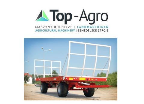 TOP-AGRO METAL-FACH Ballentransportanhänger T014/1 - 9T Metal-Fach T