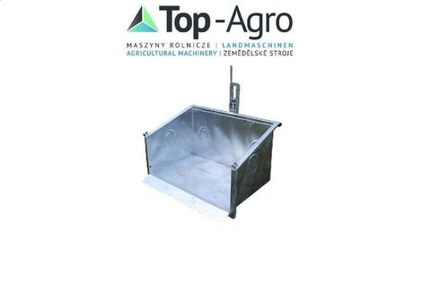 Top-Agro Transportbox (HCS) Kippmulde, Heckcontainer, Verzinkt ! 1,0m-2,0m N