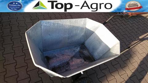 Top-Agro SCHUBKARRE - KARREN - FUTTERKARRE VERZINKT 230L