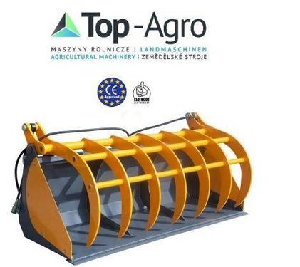Top-Agro Schaufel mit Zudruck 2,2m