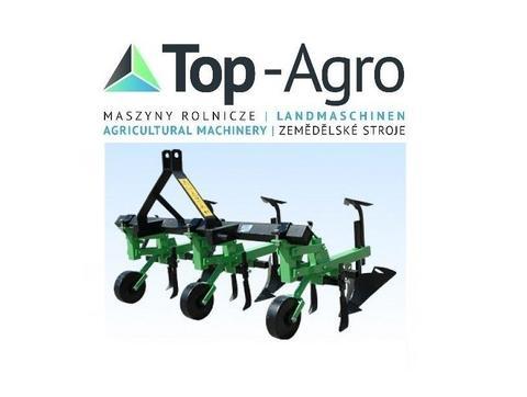 Top-Agro DIREKT VOM  HERSTELLER  EU-Qualitat Anbau  Hufelpflug 3 Schar !!NEU!!
