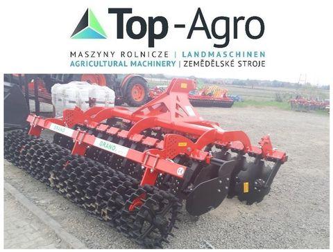 Top-Agro Grano-System Scheibenegge Crosskillwalze 3,5m !!
