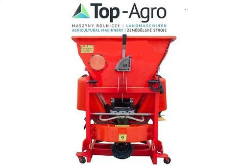 Top-Agro Sand-Salz Streuer 380l 550kg Arbeitsbreite 1m-12