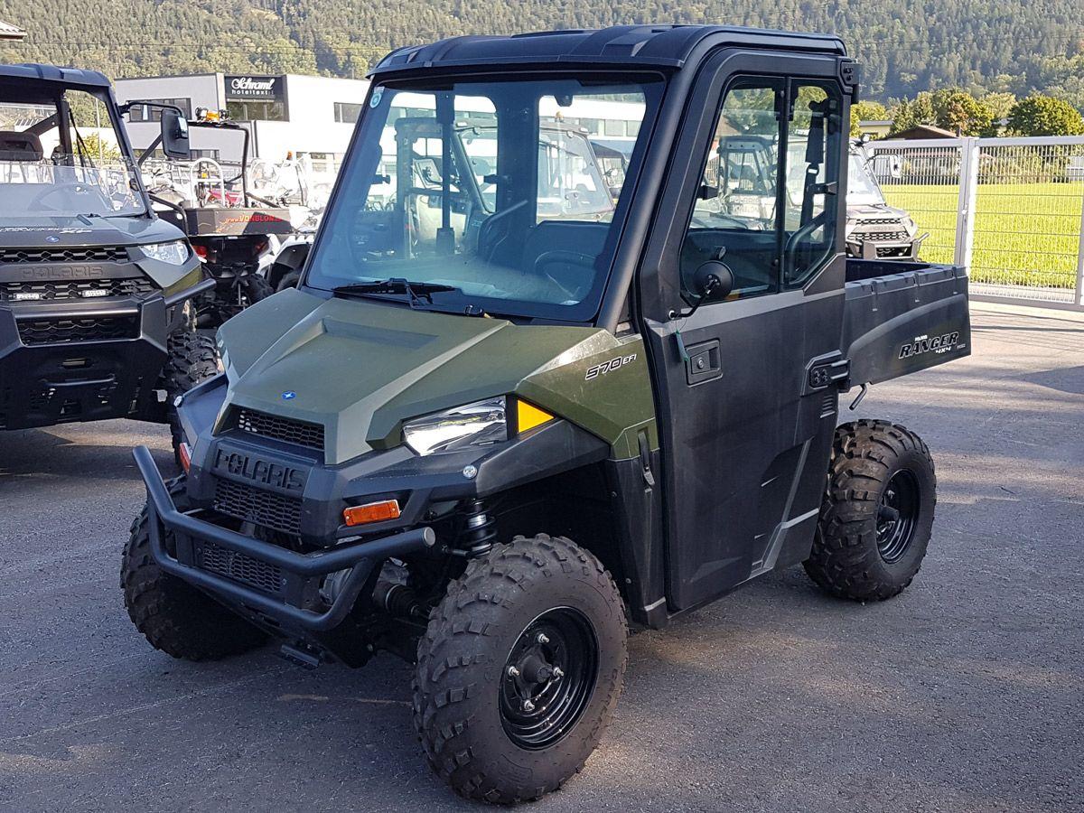 Polaris Ranger EV - fyrhjulsdriven elbil - Agria Maskin