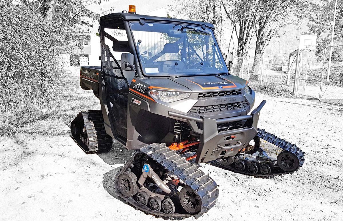 polaris ranger 1000 titan alpin eu traktor allrad. Black Bedroom Furniture Sets. Home Design Ideas
