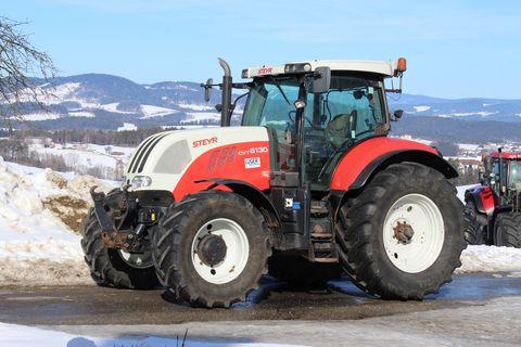 Steyr 6130 CVT Profi