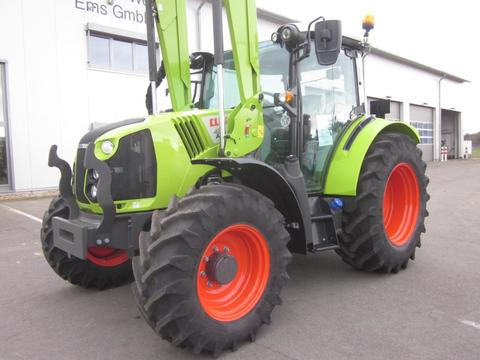 CLAAS ARION 420 CIS PANORAMIC, Frontlader FL 100 C, Kl