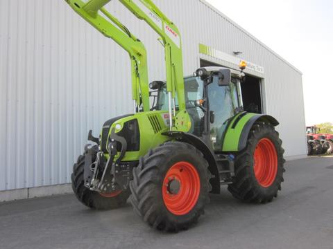 CLAAS ARION 460 CIS+ PANORAMIC, Frontlader FL 120, FKH