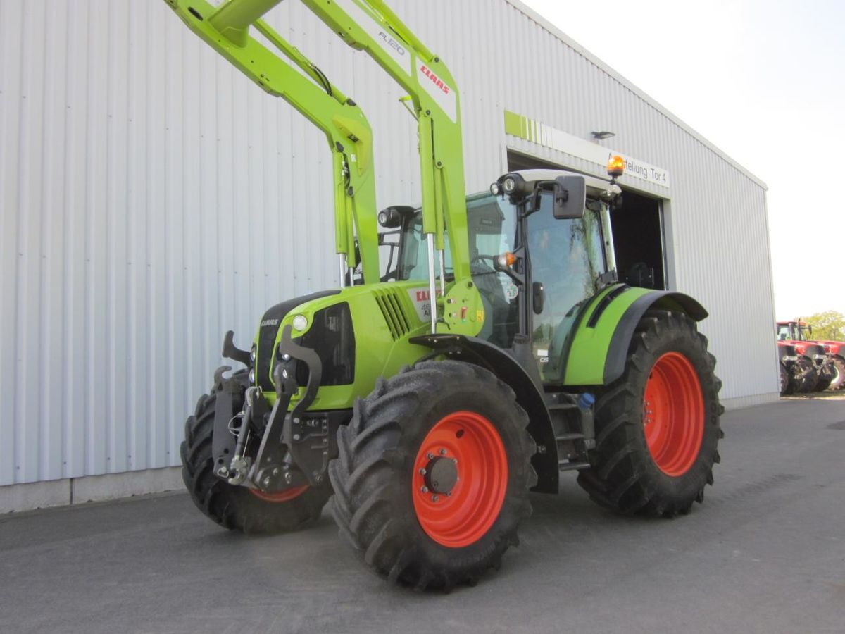 Claas arion cis panoramic frontlader fl fkh e