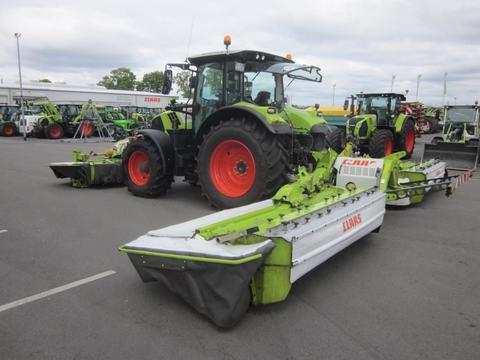 CLAAS Mähkombination DISCO 9300 C DUO mit DISCO 3100 F