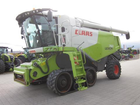 CLAAS LEXION 760 TT TERRA TRAC, APS HYBRID, Allrad mit