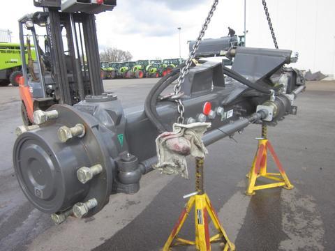 CLAAS TUCANO 570 - 580, Lenkachse, Achse, verstellbar,