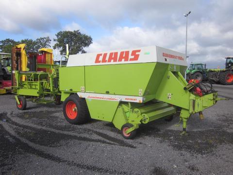 CLAAS QUADRANT 1150 RC ROTO CUT mit Ballenstapelwagen