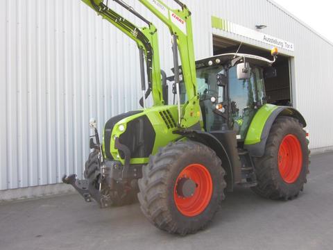 CLAAS ARION 650 CIS mit Frontlader FL 120 C