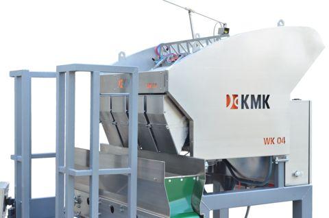 KMK Agro WK04 Rinnenwaage, Kombinationswaage 4 Rinnen