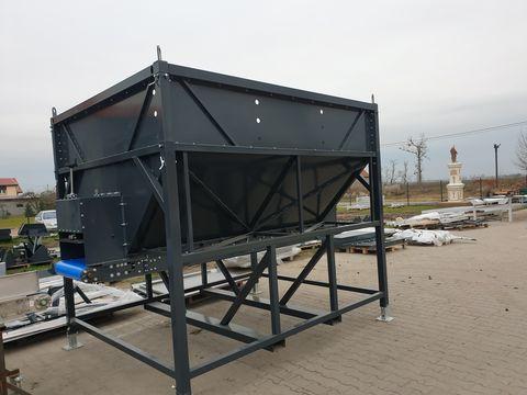 KMK Agro Bunker, Vorratsbunker, Bunkeranlage