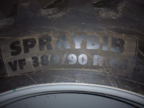 Michelin 380/90R46 Michelin SPRAYBIB 173D NEUWERTIG+Felge