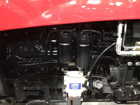 Case-IH Puma 155 Tier 3 with front link and PTO