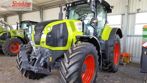 CLAAS schlepper / traktor axion 830 cebis