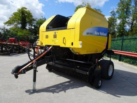 New Holland BR7060 Round Baler - £14,500 +vat