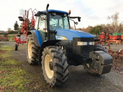 New Holland tracteur agricole tm130 new holland