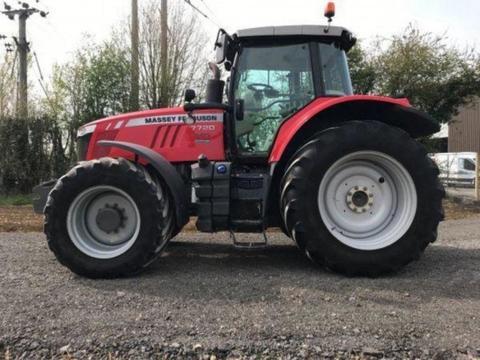 Massey Ferguson 7720 Dyna 6 Tractor - £58,995 +vat