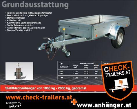 Sonstige Kastenanhänger Böckmann check-trailers.at