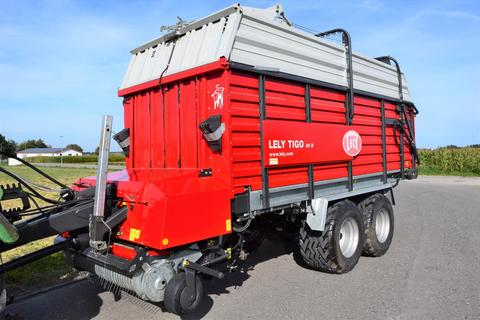 Lely Tigo 40 R mit großer Bereifung, 16-Tonnen zGG, L