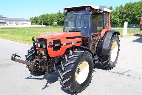 SAME Aster 70 Turbo - ein niederer Traktor im guten Z