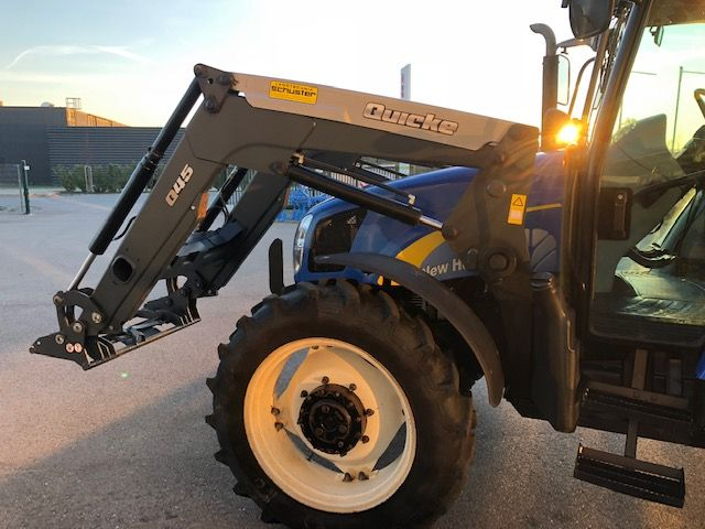 New Holland T5050 - Klimaanlage - Landwirt com