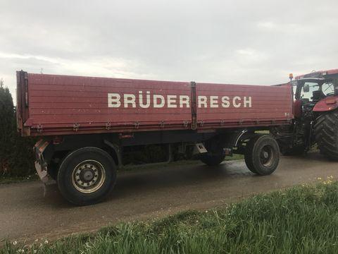 Schwarzmüller Zweiachsdreiseitenkipper 18t