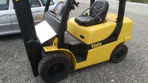 Yale Dieselstapler Stapler Triplex 2,5t