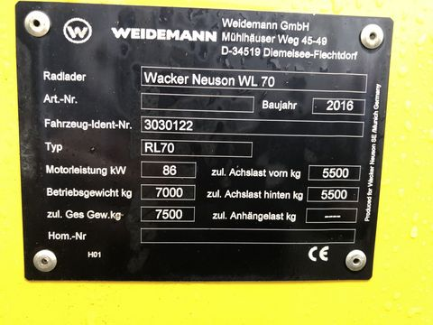 Wacker Neuson WL 70