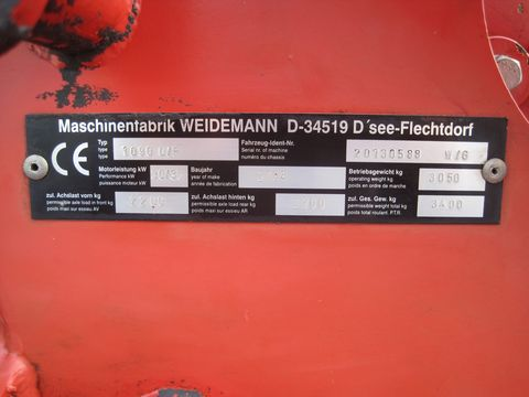 Weidemann 1090 D/P