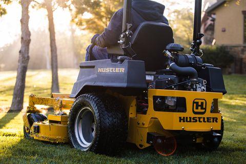 """Hustler X-One 54"""" RD Zero-Turn Aufsitzmäher"""