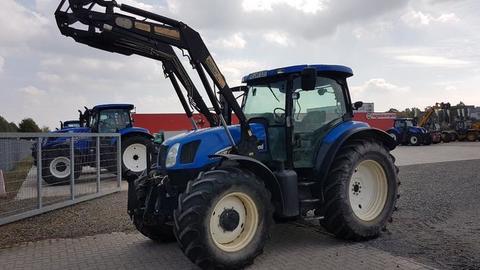 Gebrauchte frontlader new holland landwirt