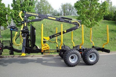 Uniforst FK 6,3m+RA 11,5to Holzrückewagen