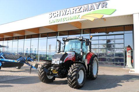Steyr 4120 Multi mit Forstverbau Schwarzmayr