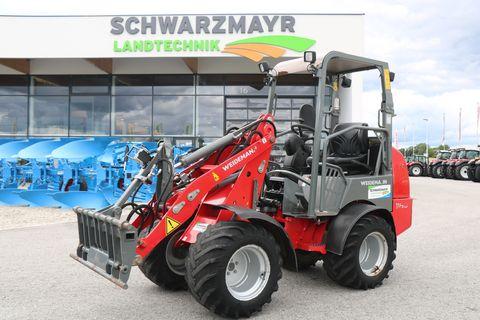 Weidemann 1160 mit K80 Achsen