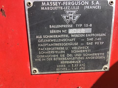 Massey Ferguson 15-8