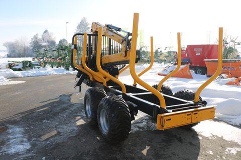 Uniforst 1248/6080 Holzrückewagen