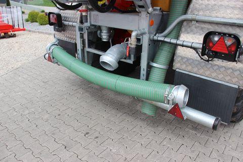 Vakutec MKE 15,5 PU light ECo Pumpfass mit Schleppschuhv