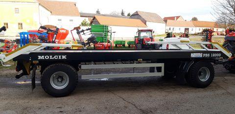 Sonstige Molcik Ballenwagen 3 Achs